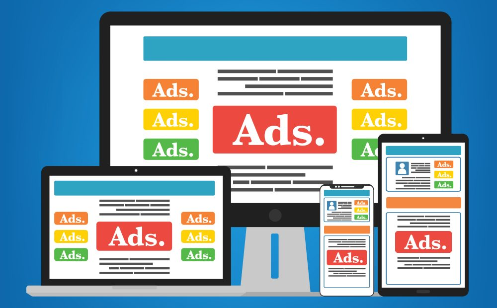 All about ads on web pages